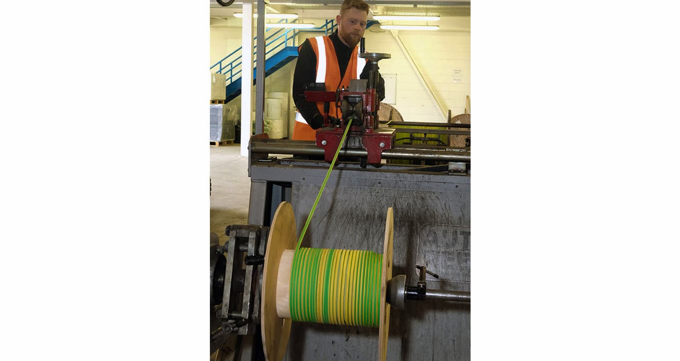 MacLean cable wrapping