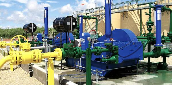 Odessa Pumps Energy Industry
