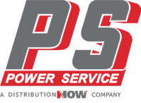 Power Service A DistributionNOW Company Logo