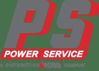 Power Service A DistributionNOW Company Logo