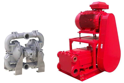 Positive Displacement Sliding Vane Pump