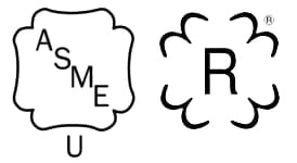 Pressure Vessel Code Stamps U and R