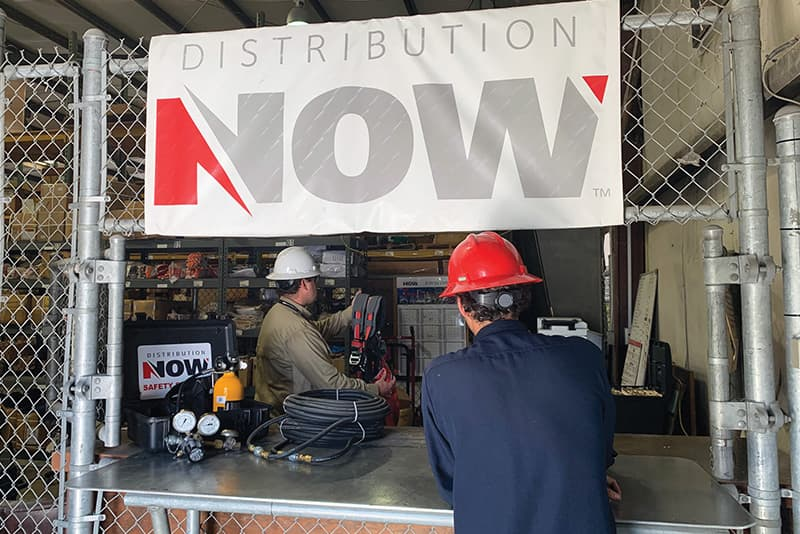 DNOW Safety Services On-Site Safety Store