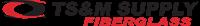 TS&M Fiberglass A DistributionNOW Company Logo