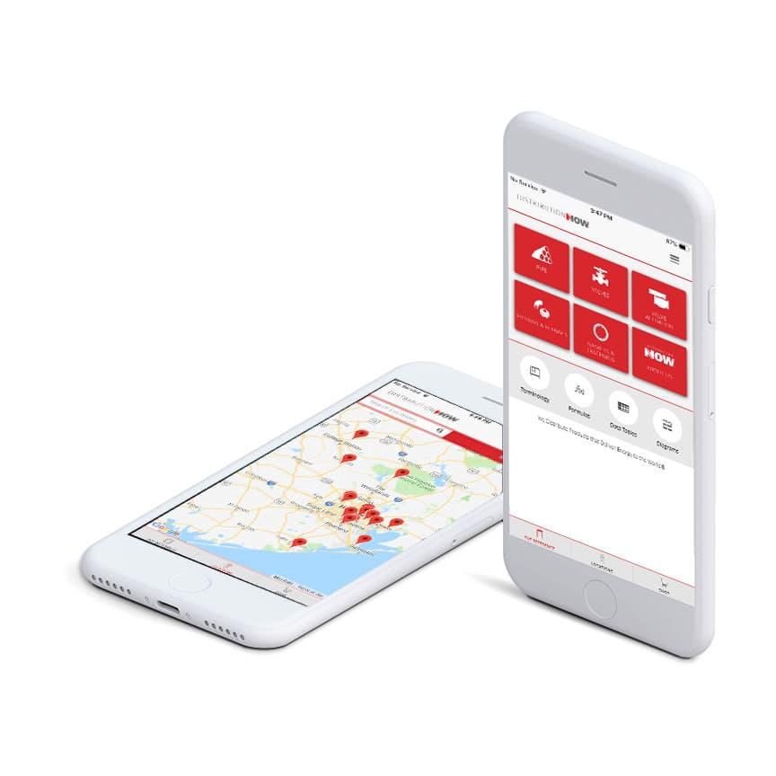 DistributionNOW PVF Mobile App