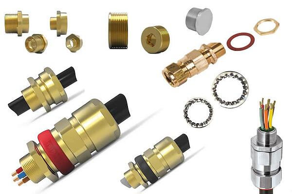 Cable Glands thread converters and accs