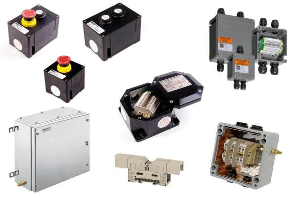 Junction boxes control stations and accessories