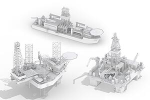 Offshore-based-drilling