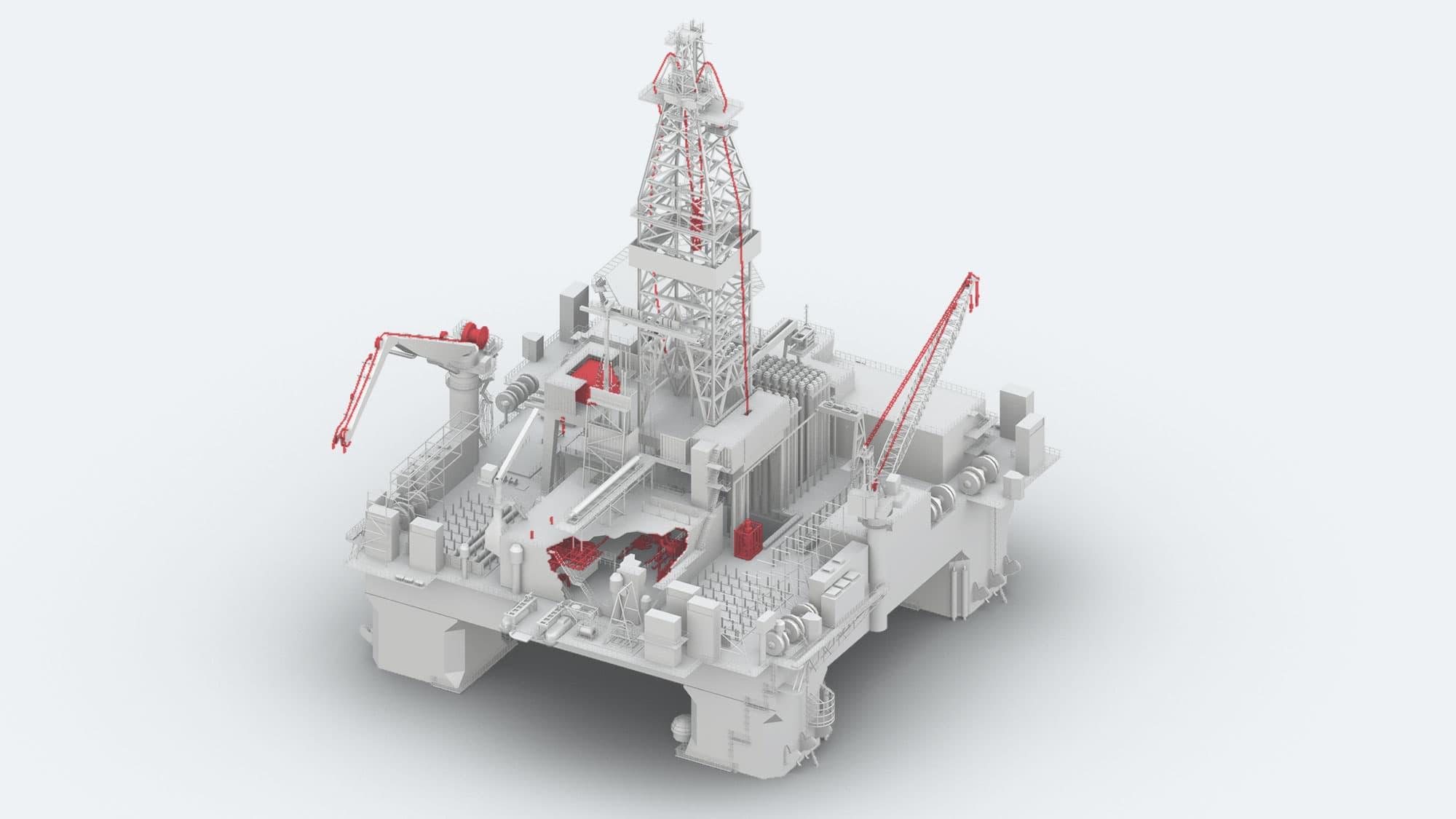 Semi-Submersible Rig