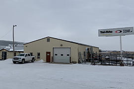 Swift Current (TS&M Supply) Branch, Rod Pump Shop