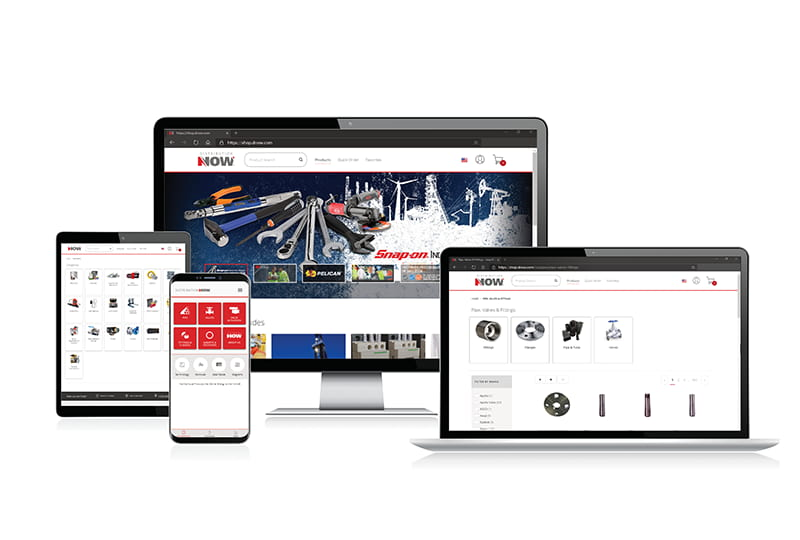 DistributionNOW's eCommerce solution, powered by DigitalNOW