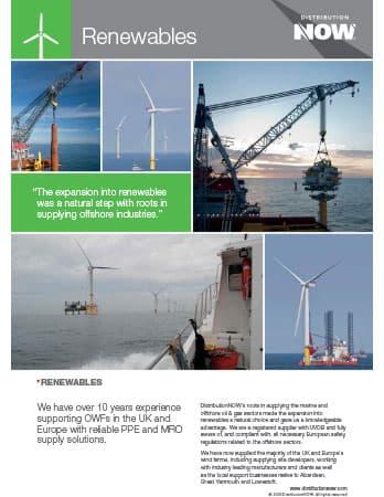 DNOW UK Ltd Renewables Flyer [A4]