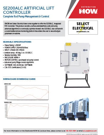 DNOW Select Electrical SE200ALC Controller Flyer
