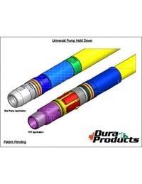 Dura Products Universal Pump Hold Down Product Sheet