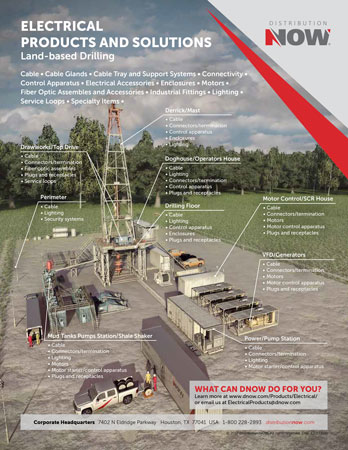 DNOW Electrical Products & Solutions for Land Drilling Flyer