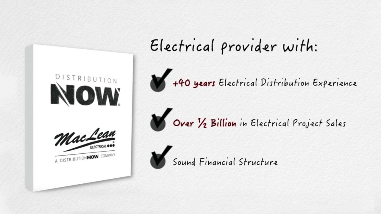 DNOW Solution to Capital Project with Electrical Products Video