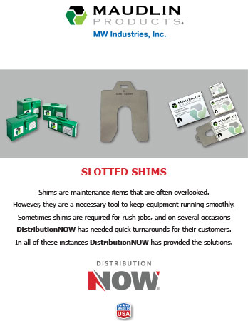 DNOW Maudlin Slotted Shims Flyer