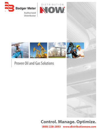 DNOW Badger Meter Oil & Gas Solutions Brochure