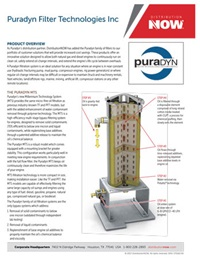 DNOW Puradyn Bypass Oil Filtration Flyer