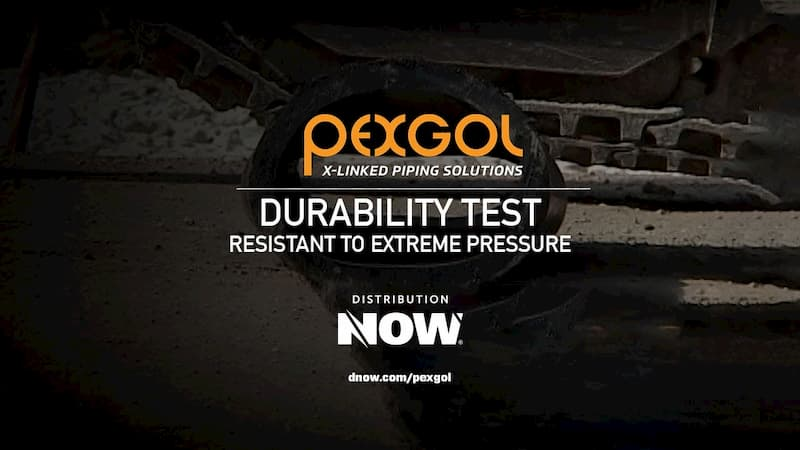 Pexgol PE-Xa Pipe Durability Testing Video