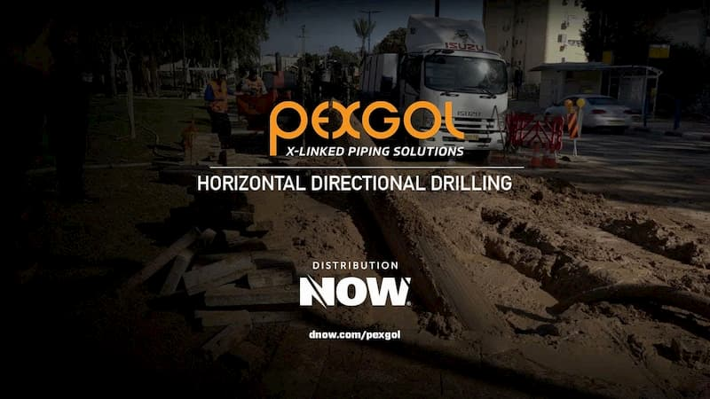Pexgol PE-Xa Pipe Horizontal Drilling Video