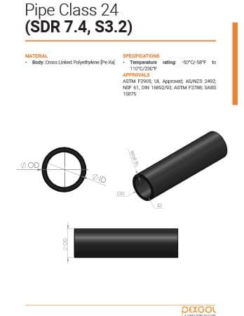 Pexgol Pipe Class 24 Brochure