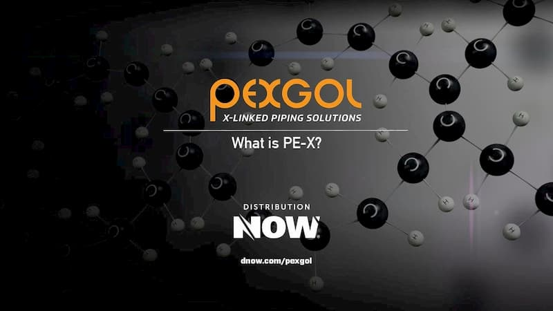 Pexgol PE-Xa Pipe - What is PE-X Video
