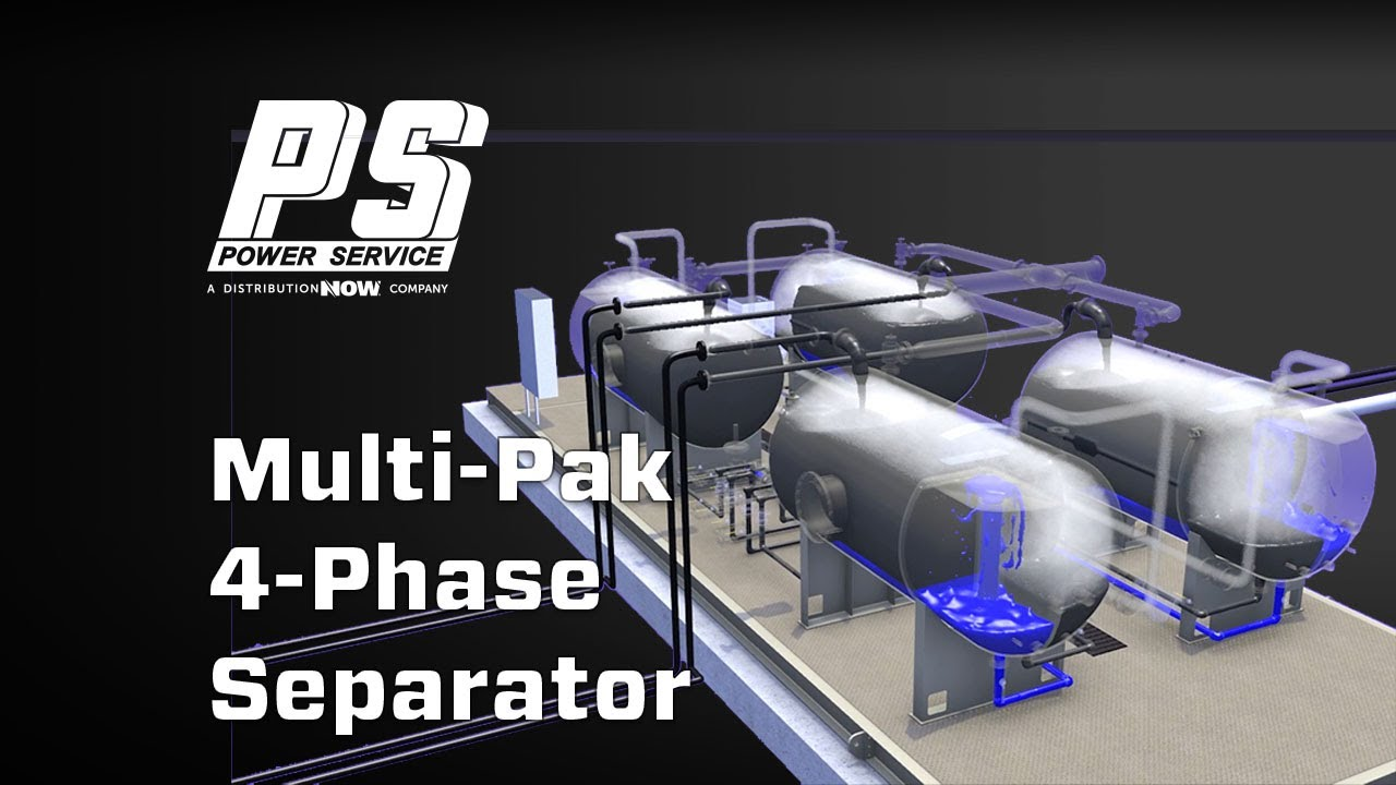 Power Service Quad Multi-Pak Separator Unit Video