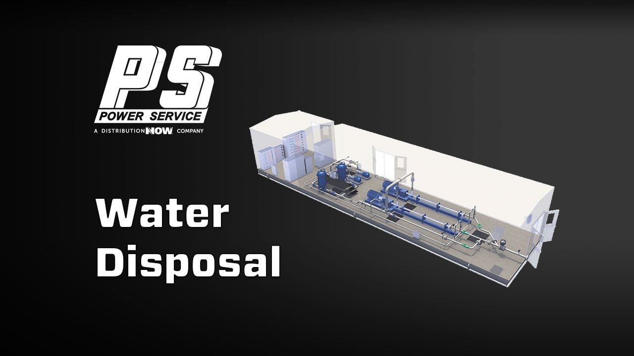 Power Service Salt Water Disposal Unit Video