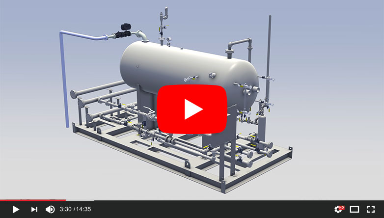 Power Service Single-Pak 3-Phase Separator Unit Video