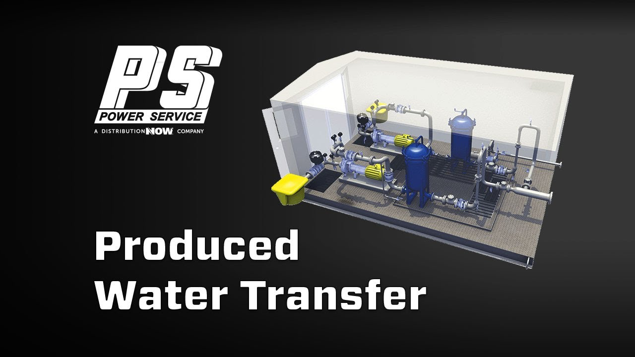 Power Service Water Transfer Unit Video