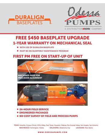 Odessa Pumps DURALIGN® Baseplates Flyer