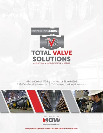 DNOW Total Valve Solutions Overview Brochure