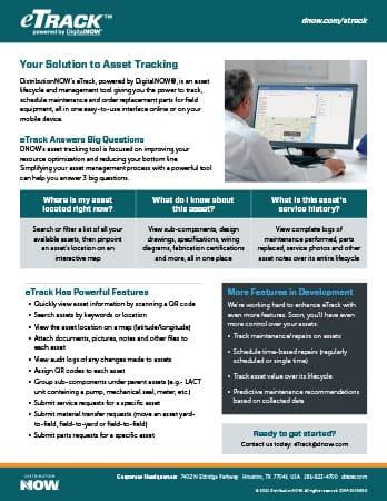 eTrack Asset Management Flyer