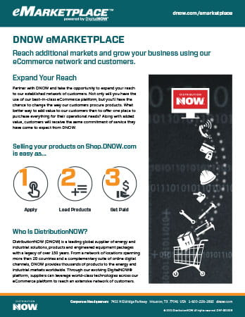 DNOW eMarketplace Brochure