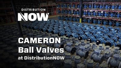 Cameron Welded Ball Valves from DNOW