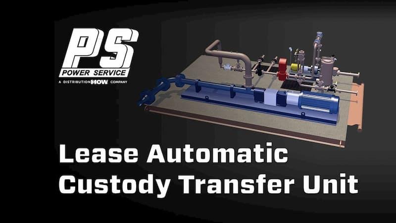 Power Service Lease Automatic Custody Transfer (LACT) Unit