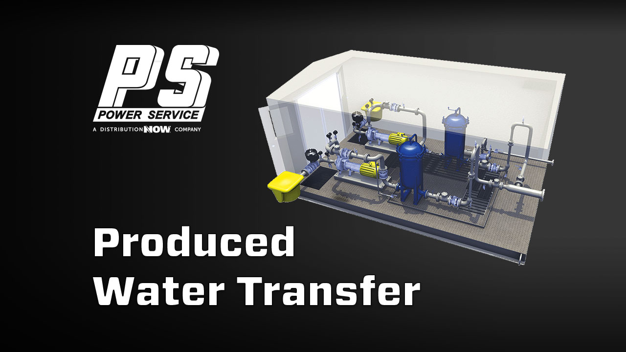 Power Service Produced Water Transfer Unit