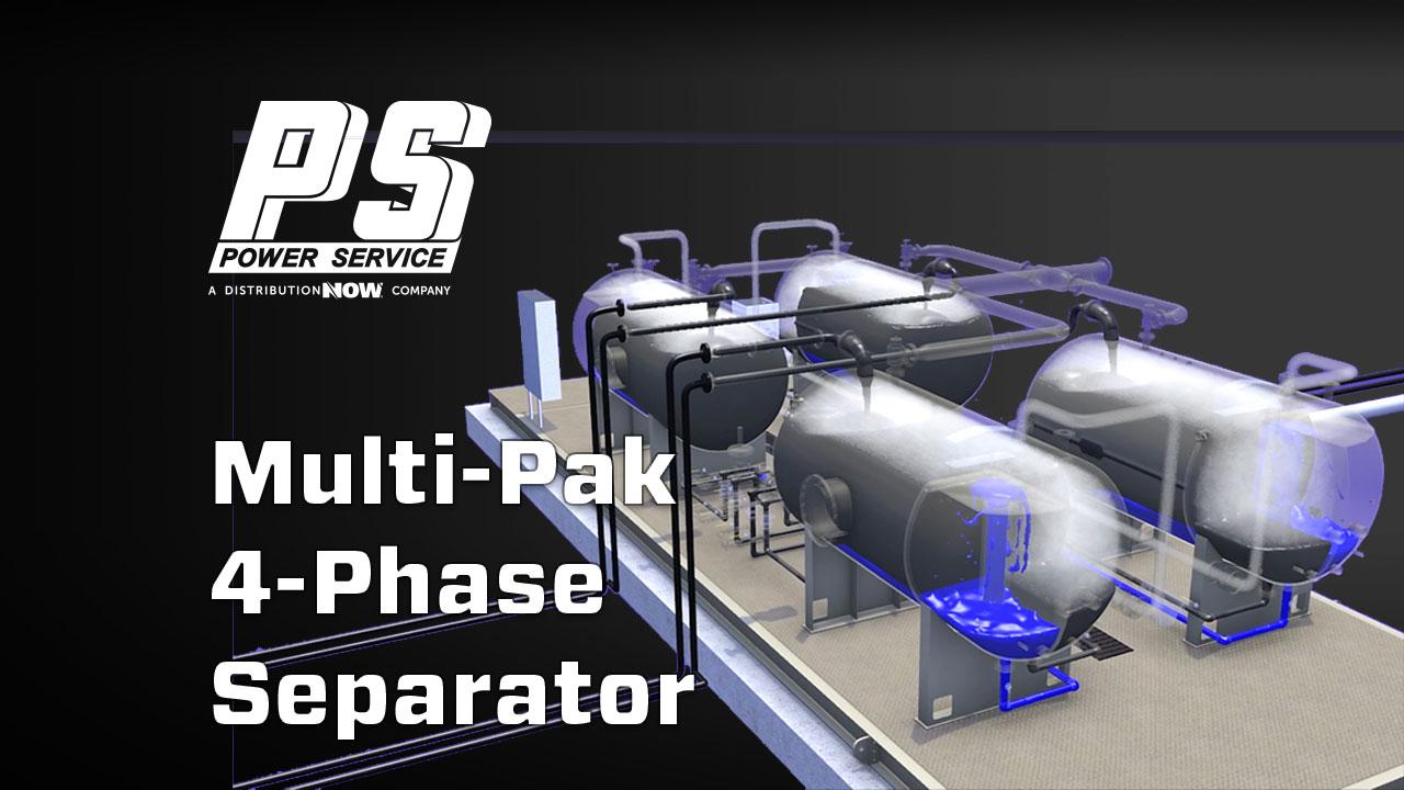 Power Service Quad Multi-Pak Separator Unit