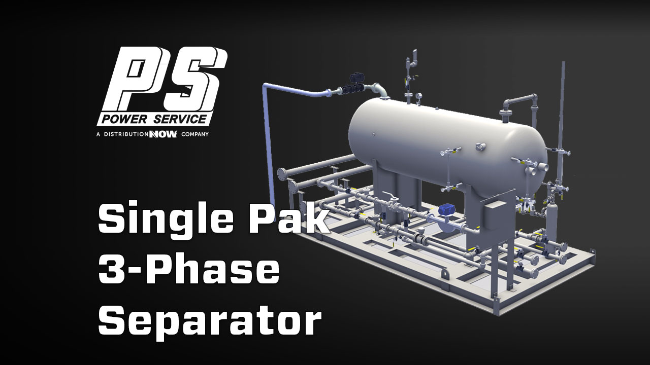 Power Service Single-Pak 3-Phase Separator Unit