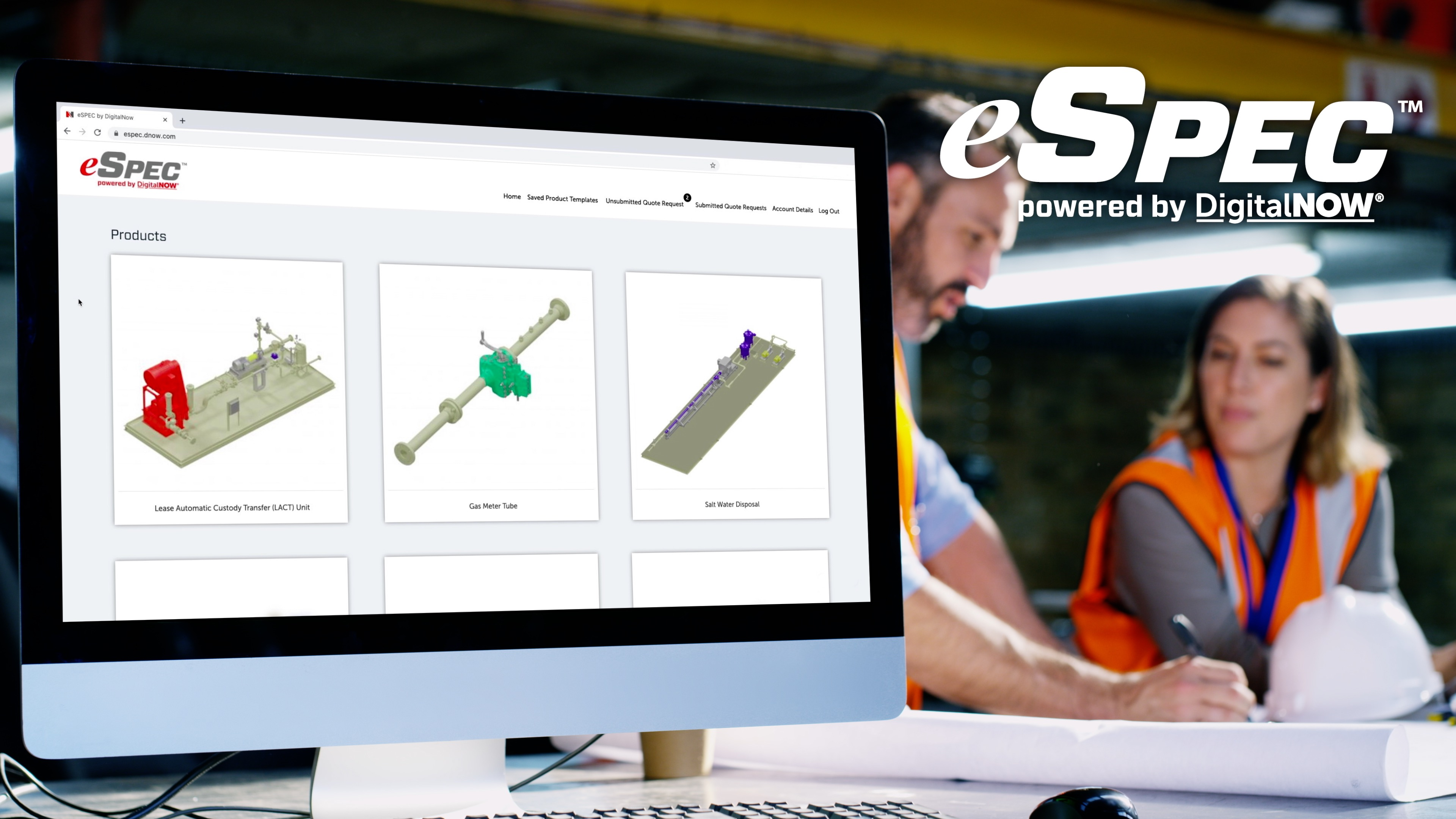 eSpec powered by DigitalNOW - Product Configurator